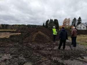 Tiistaina 22.10. järjestettiin Villiönsuvannon arkeologisten tutkimusten esittely.
