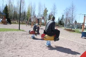 Kokemäen leikkipuistot