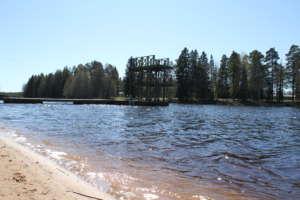 Pitkäjärven uimaranta