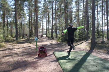 Pitkäjärven frisbeegolf-rata