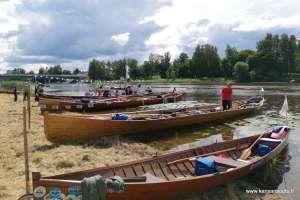 Satakunnan kansansoutu veneet rannassa