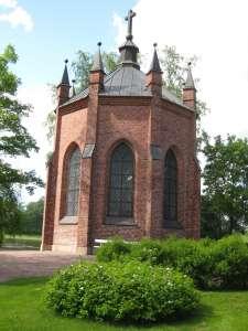 Pyhän Henrikin saarnahuone pyhiinvaellusreitin varrella